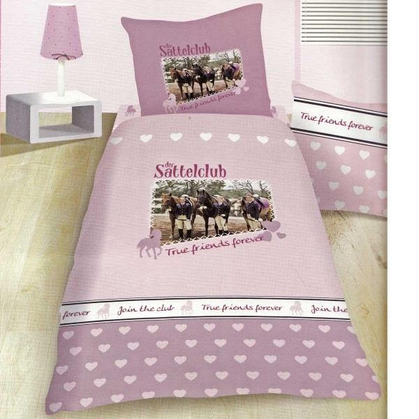 pferdebettw sche pferde bettw sche sattelclub 135x200. Black Bedroom Furniture Sets. Home Design Ideas