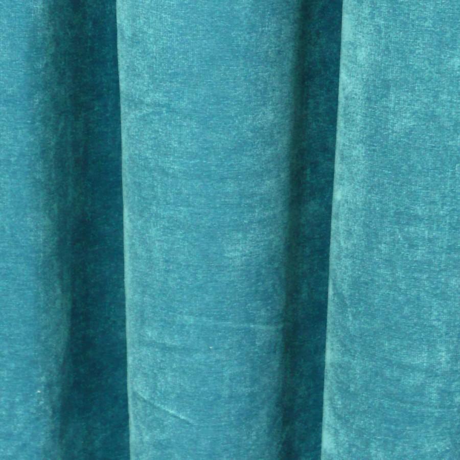 senschal senvorhang vorhang 140x245cm luciano petrol ebay. Black Bedroom Furniture Sets. Home Design Ideas