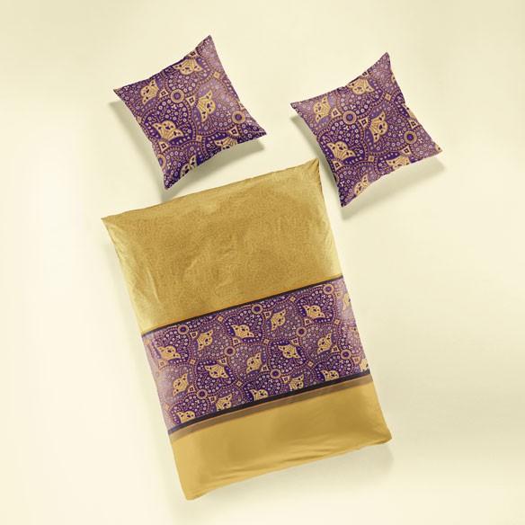 bierbaum bettw sche mako satin 135x200cm orientalisch ebay. Black Bedroom Furniture Sets. Home Design Ideas