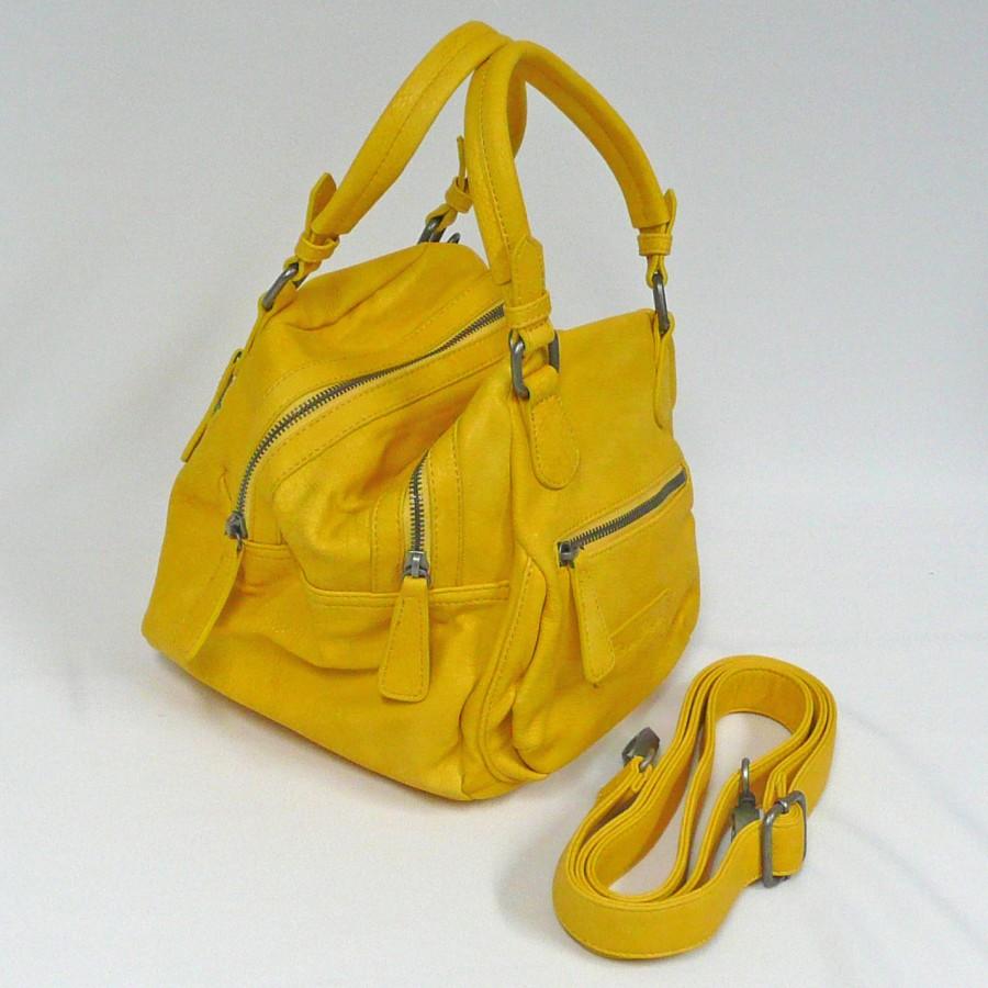 fritzi aus preu en handtasche andrea berlin gelb mode. Black Bedroom Furniture Sets. Home Design Ideas
