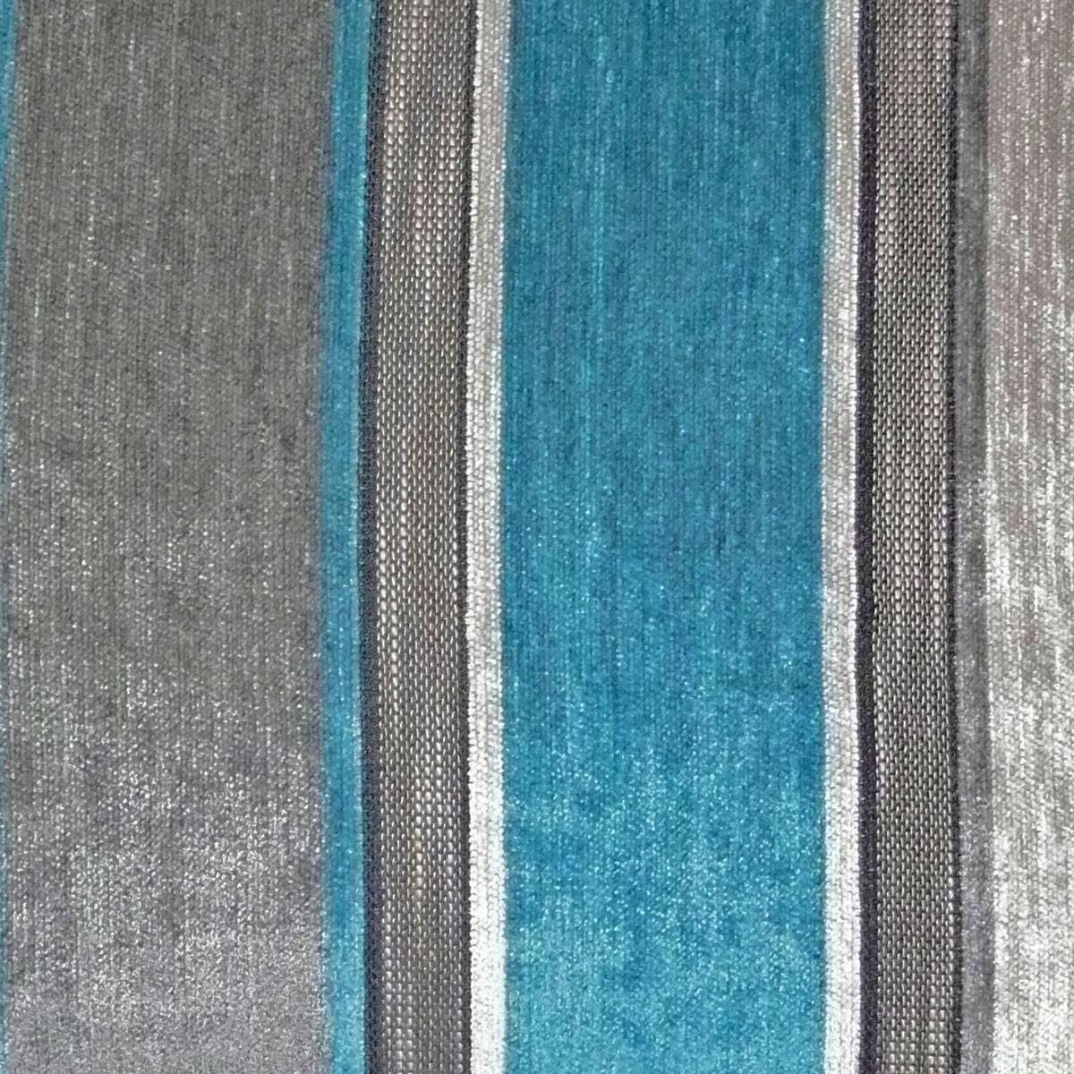 kissen kissenh lle streifen grau t rkis 50x50cm ebay. Black Bedroom Furniture Sets. Home Design Ideas
