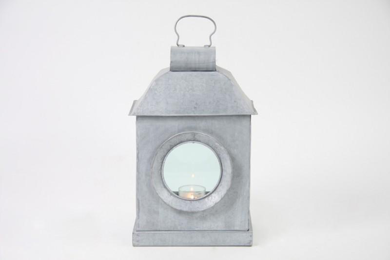 windlicht laterne metall rustikal h 38cm ebay. Black Bedroom Furniture Sets. Home Design Ideas