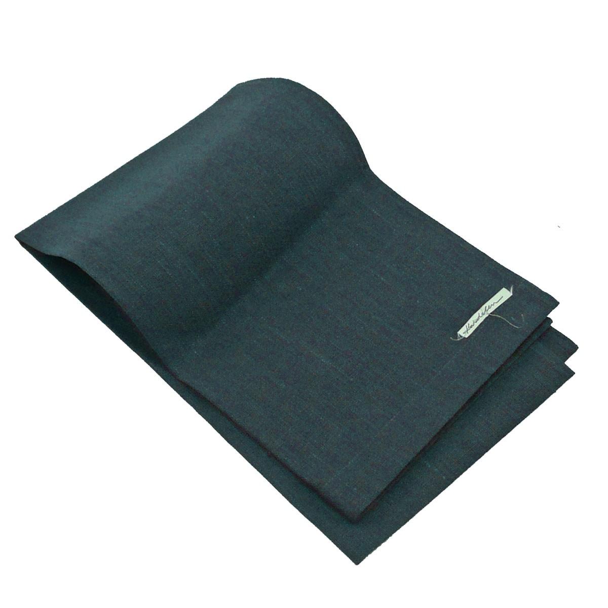leinen tischl ufer erik 1 lagig 47x150cm schiefer wohntextilien leinen tischw sche tischl ufer. Black Bedroom Furniture Sets. Home Design Ideas