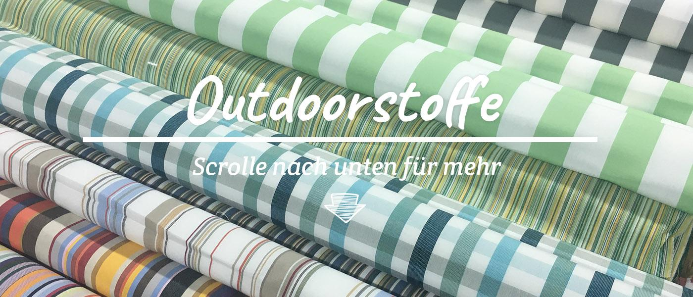 Outdoor Stoffe outdoorstoffe