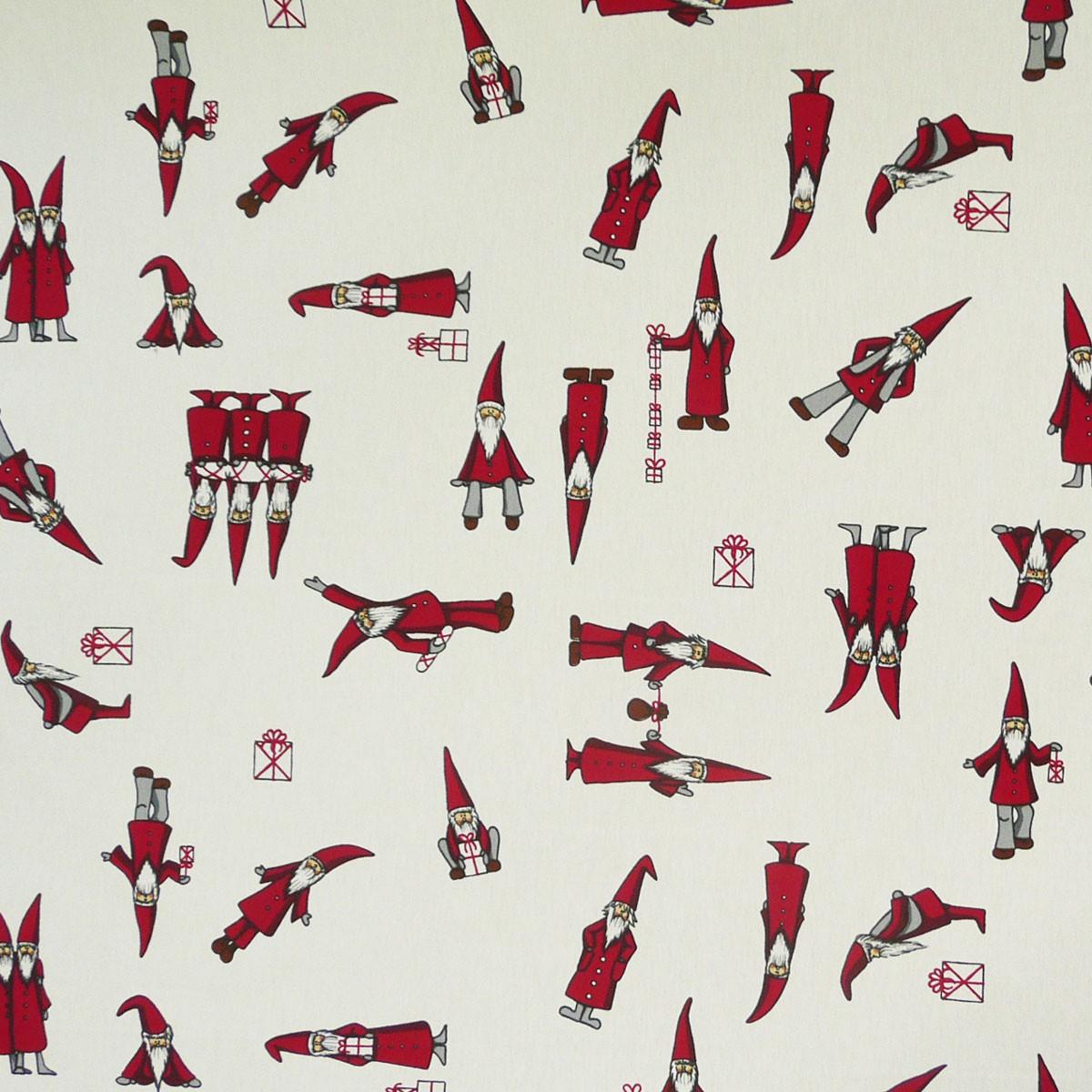 gardinenstoff stoff dekostoff meterware weihnachtsmann geschenke weihnachten wei ebay. Black Bedroom Furniture Sets. Home Design Ideas