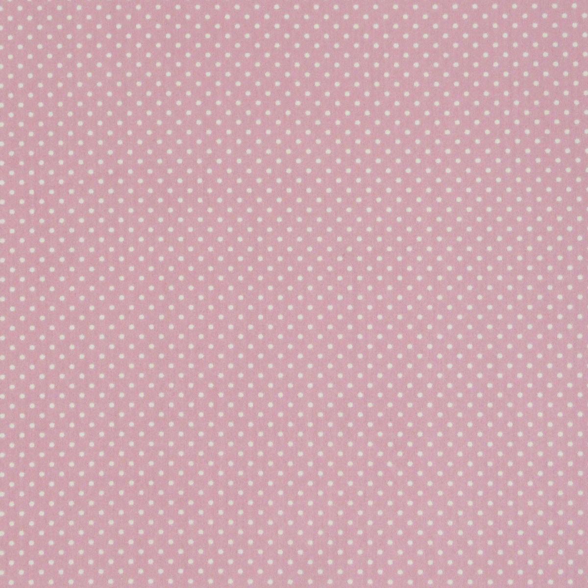 gardinenstoff stoff dekostoff meterware rosa creme punkte stoffe stoffe gemustert stoff punkte. Black Bedroom Furniture Sets. Home Design Ideas