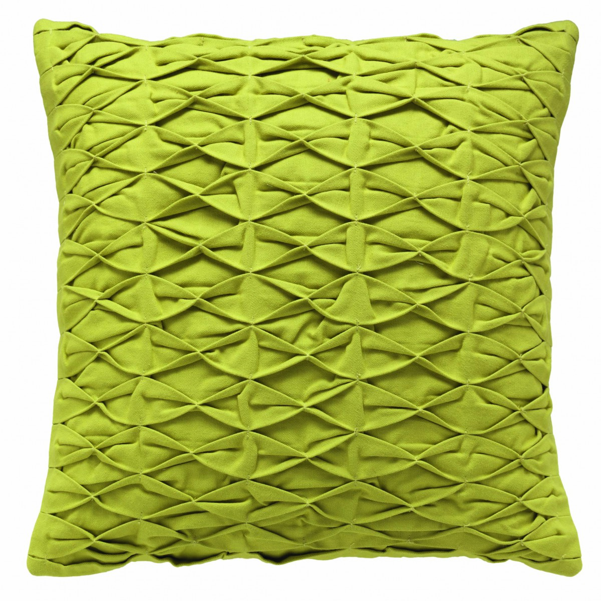 sch ner wohnen kissenh lle stitch gr n 45x45cm wohntextilien marken sch ner wohnen. Black Bedroom Furniture Sets. Home Design Ideas