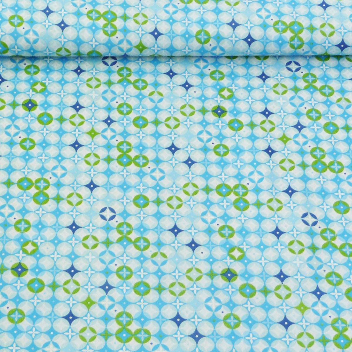 tante ema baumwollstoff stoff meterware tangobl ten blau. Black Bedroom Furniture Sets. Home Design Ideas