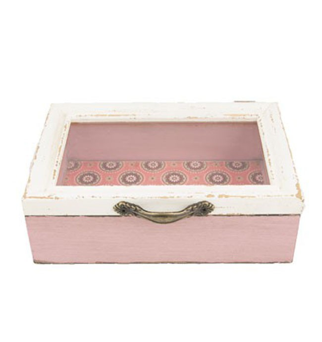 schmuck box aufbewahrung vintage marrakesch rosa 18x12cm. Black Bedroom Furniture Sets. Home Design Ideas