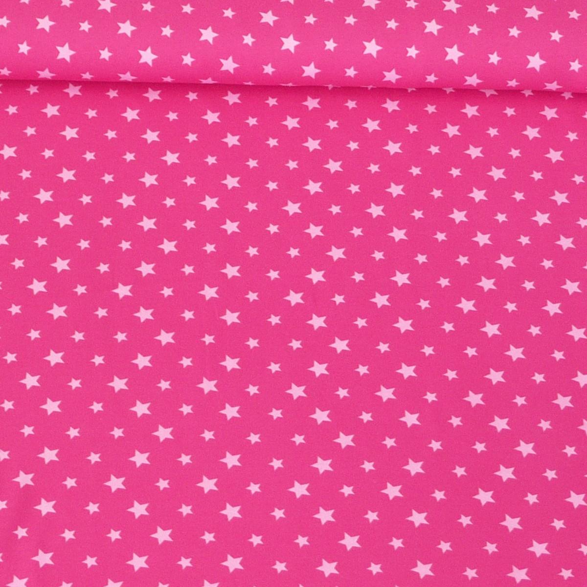 jersey stoff sterne pink rosa stoffe stoffe gemustert stoff sterne. Black Bedroom Furniture Sets. Home Design Ideas