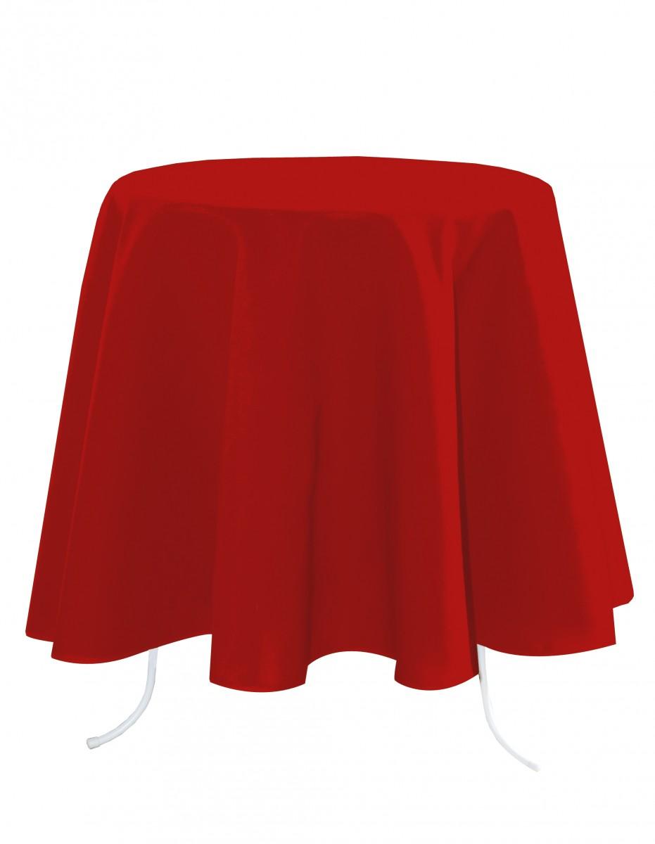 tischdecke nelson rot rund 160cm wohntextilien tischw sche. Black Bedroom Furniture Sets. Home Design Ideas