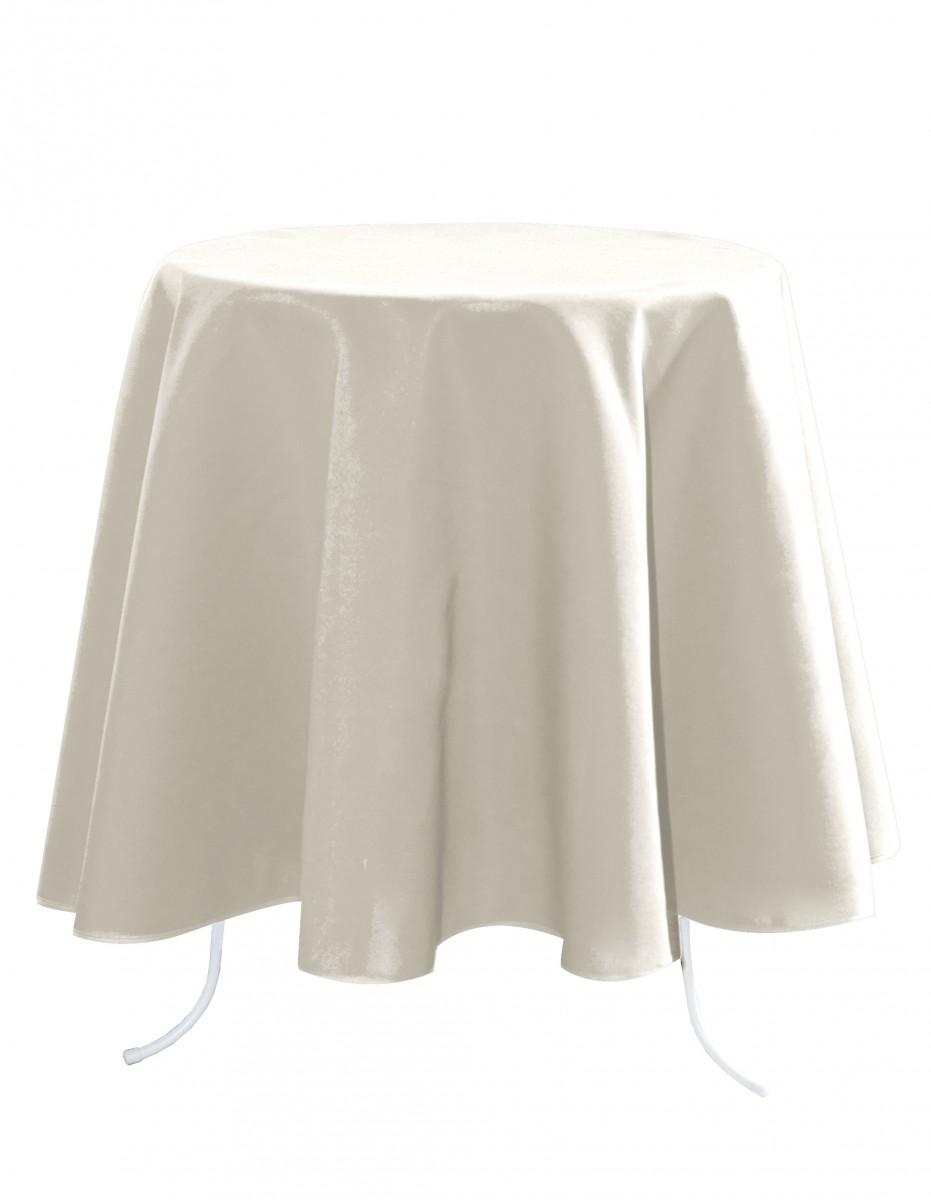 tischdecke nelson creme rund 160cm wohntextilien tischw sche tischdecken. Black Bedroom Furniture Sets. Home Design Ideas