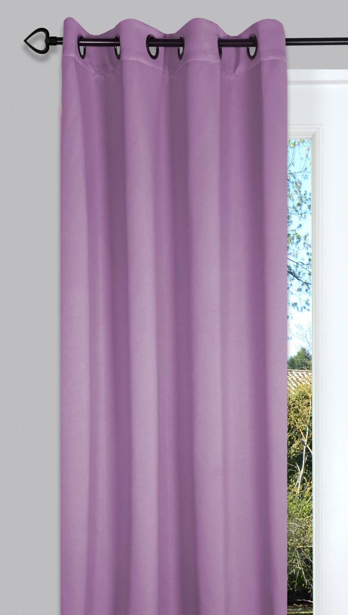fertiggardine sengardine verdunkelung lila 135x260cm gardinen fertiggardinen senschals. Black Bedroom Furniture Sets. Home Design Ideas