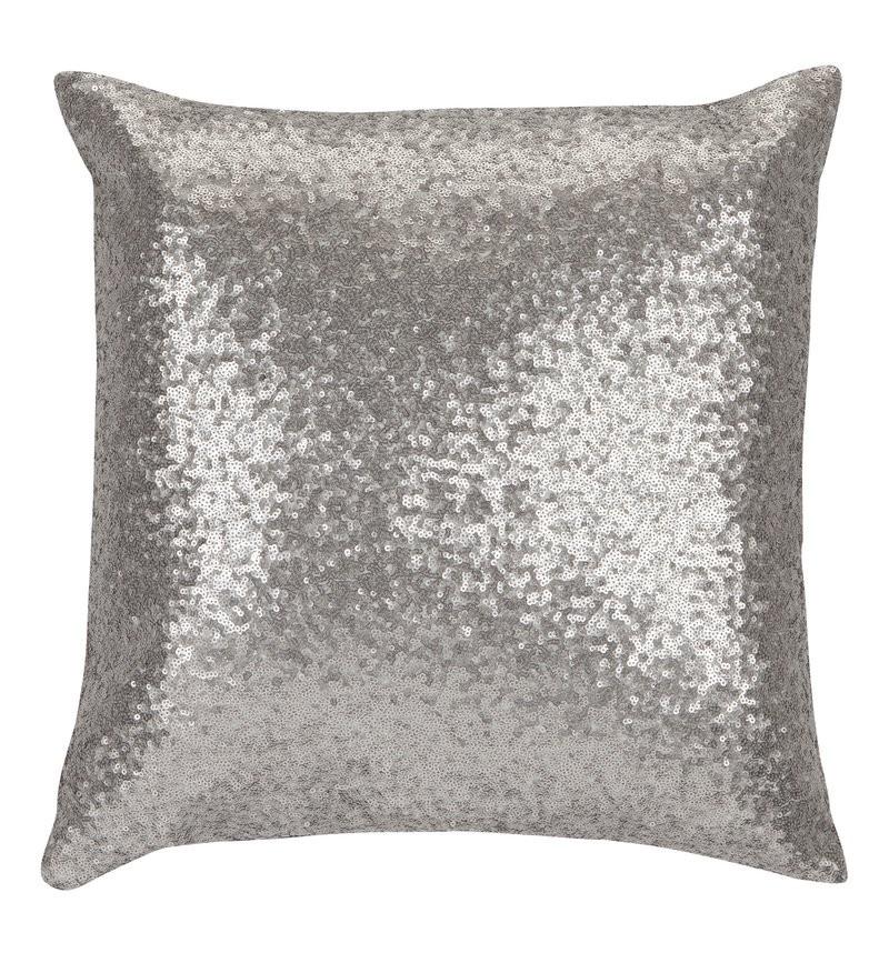 Silber Farbwelt Kissen