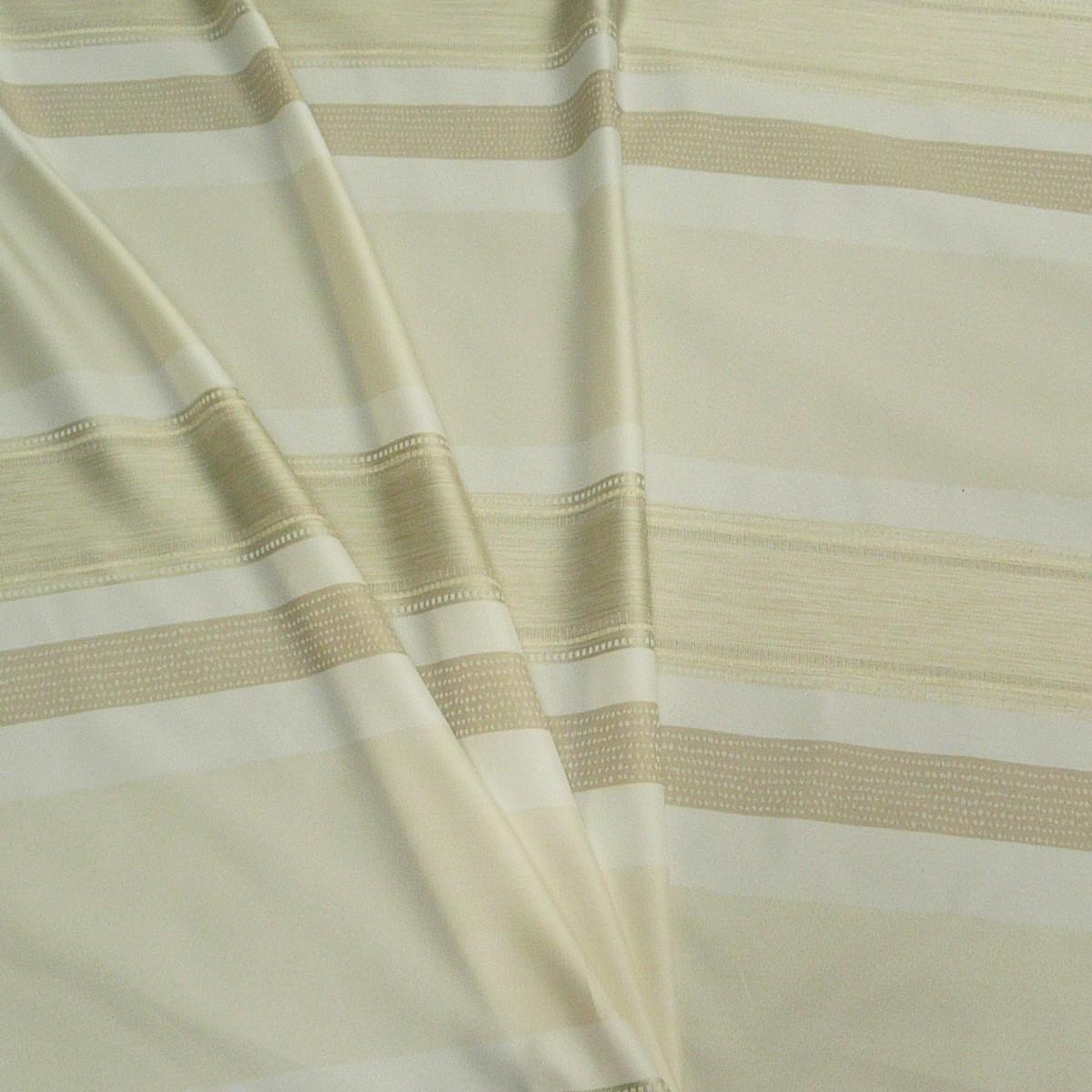 gardinenstoff meterware elpaso streifen wei creme beige 1 50m h he gardinen gardinenstoffe. Black Bedroom Furniture Sets. Home Design Ideas