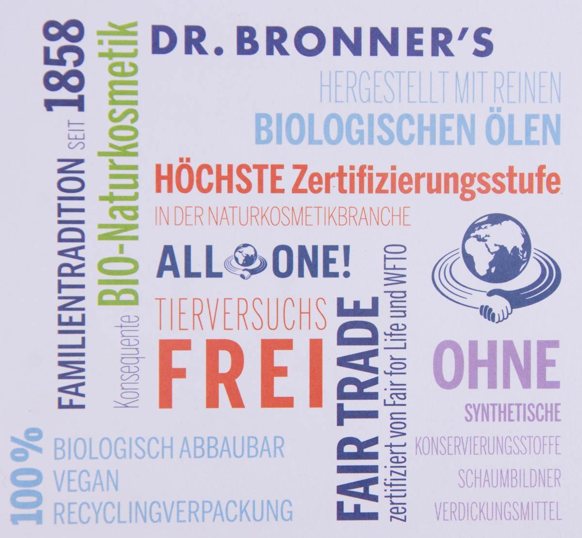 Zertifikate Dr. Bronner's