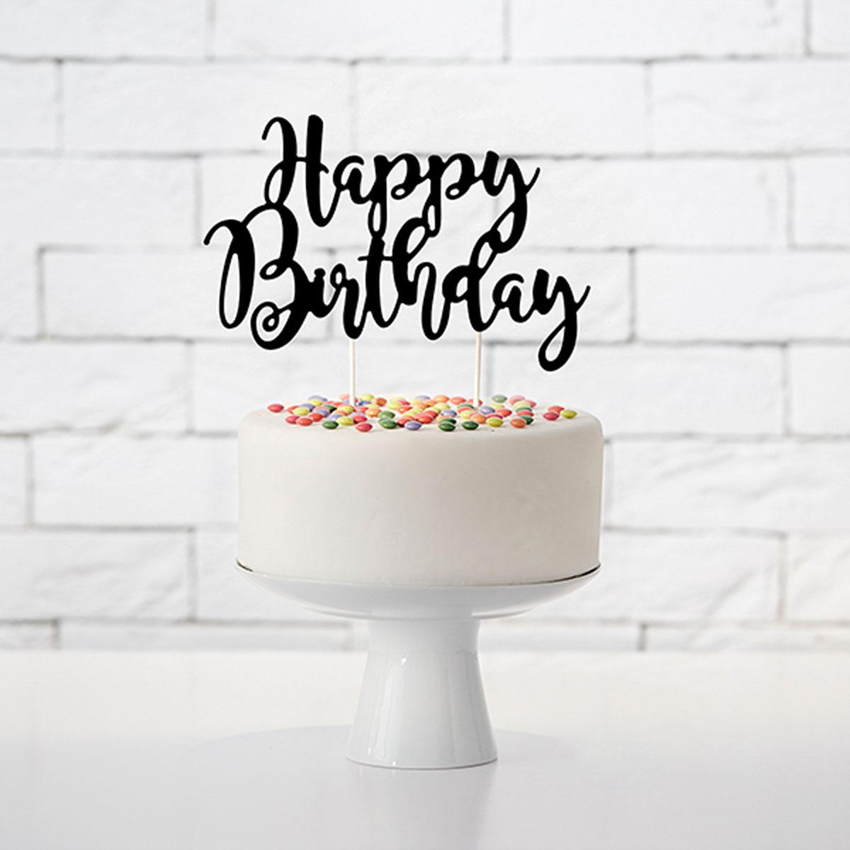 Happy Birthday Tortenstecker