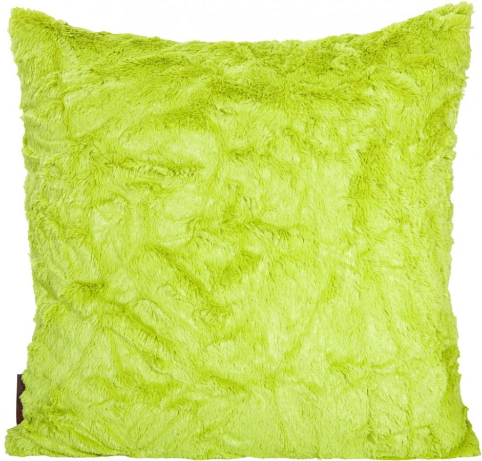 kissenh lle fluffy gr n ca 50x50cm wohntextilien. Black Bedroom Furniture Sets. Home Design Ideas