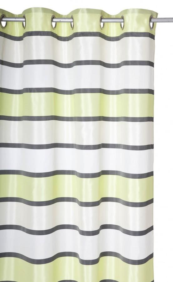schlaufenvorhang schlaufenschal 135x245cm tiempo gr n. Black Bedroom Furniture Sets. Home Design Ideas