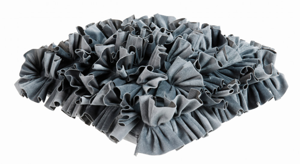 kissen dekokissen ruffle bianca grau 45x45cm wohntextilien. Black Bedroom Furniture Sets. Home Design Ideas