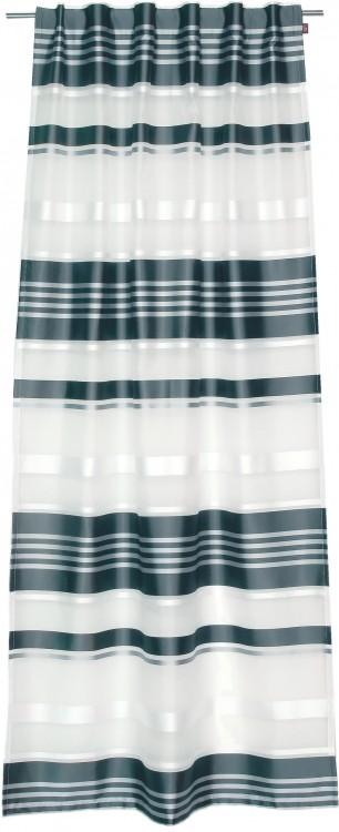 esprit fertigschal dekoschal schlaufenschal larga grau 120x245cm gardinen fertiggardinen. Black Bedroom Furniture Sets. Home Design Ideas