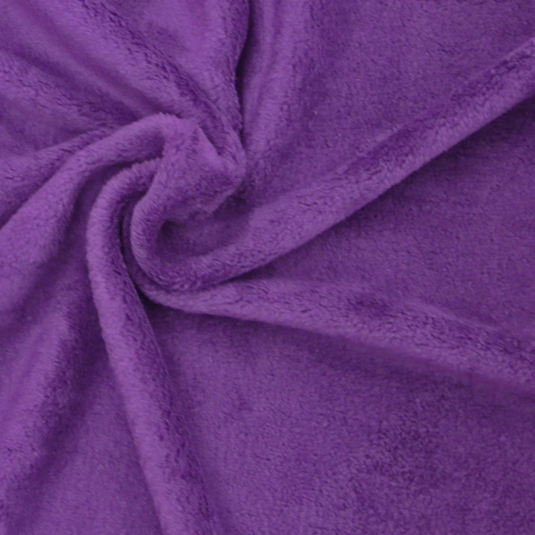 wellness fleece stoff meterware purple stoffe stoffe uni fleece. Black Bedroom Furniture Sets. Home Design Ideas