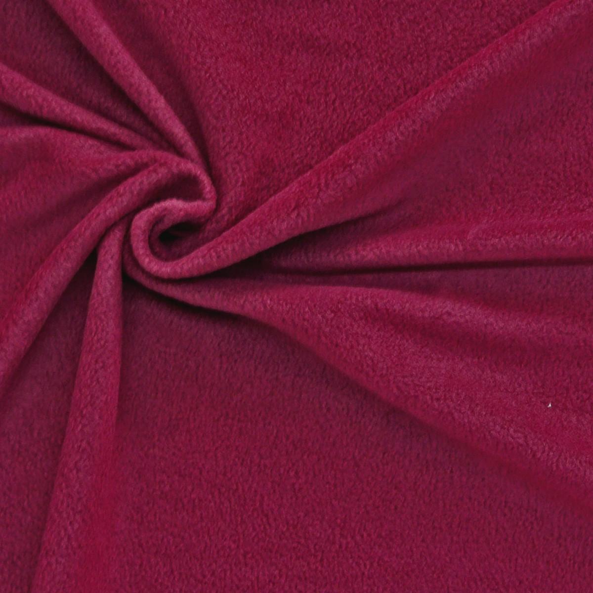 polar fleece stoffe fleecestoff fuchsia stoffe zubeh r stoffe stoffe uni. Black Bedroom Furniture Sets. Home Design Ideas