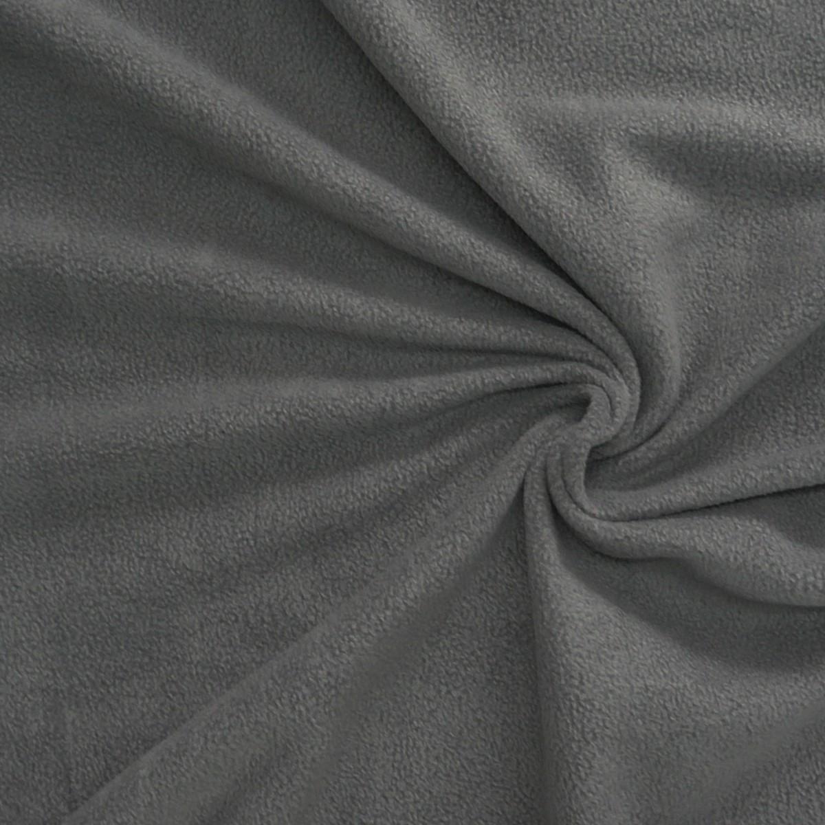 polar fleece stoffe fleecestoff dunkelgrau stoffe zubeh r stoffe fleece pl schstoffe. Black Bedroom Furniture Sets. Home Design Ideas