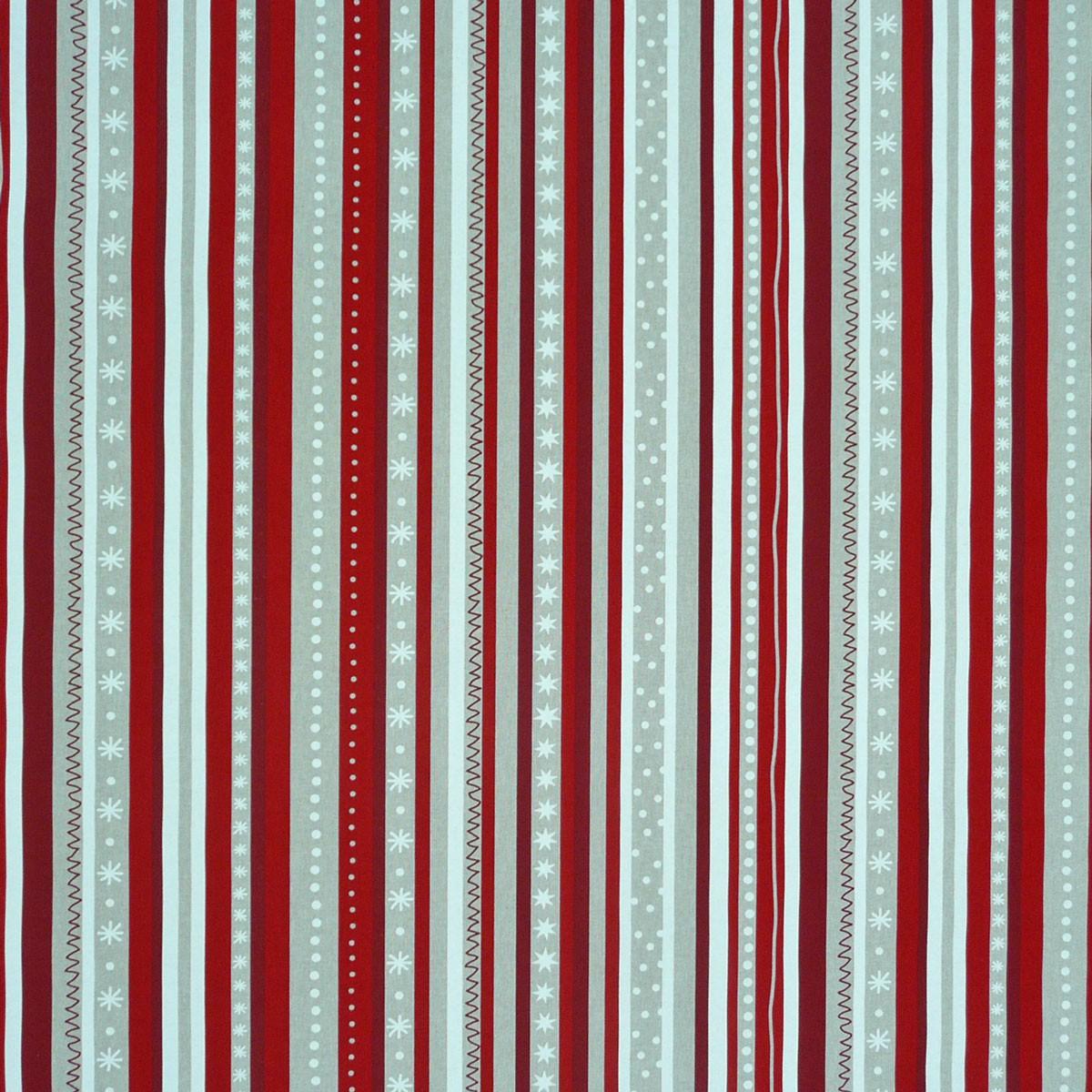 gardinenstoff stoff dekostoff meterware streifen weihnachten rot gardinen gardinenstoffe dekostoffe. Black Bedroom Furniture Sets. Home Design Ideas