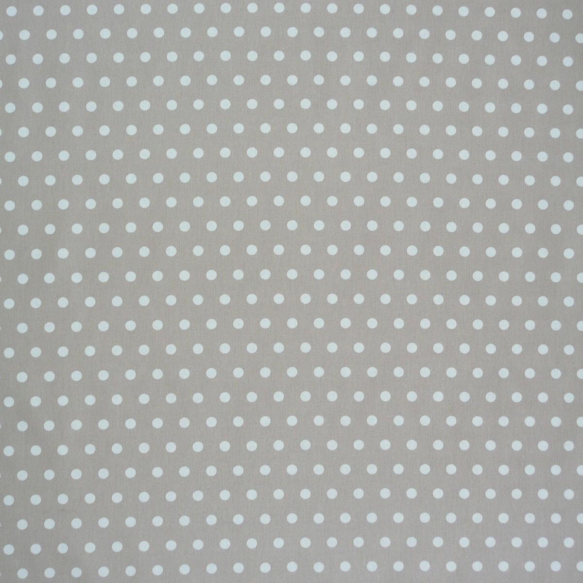 tischdeckenstoff wachstuch beschichtete baumwolle beige punkte wei stoffe stoffe gemustert. Black Bedroom Furniture Sets. Home Design Ideas
