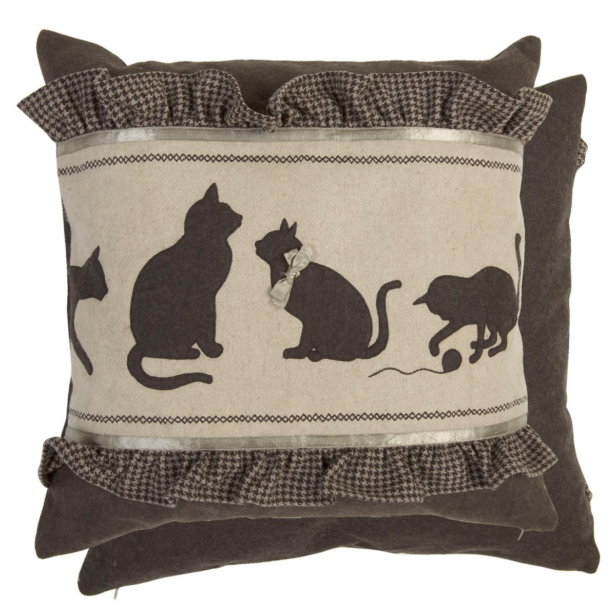 Clayre eef kissenh lle katzen r schen 50x50cm for Autrefois decoration