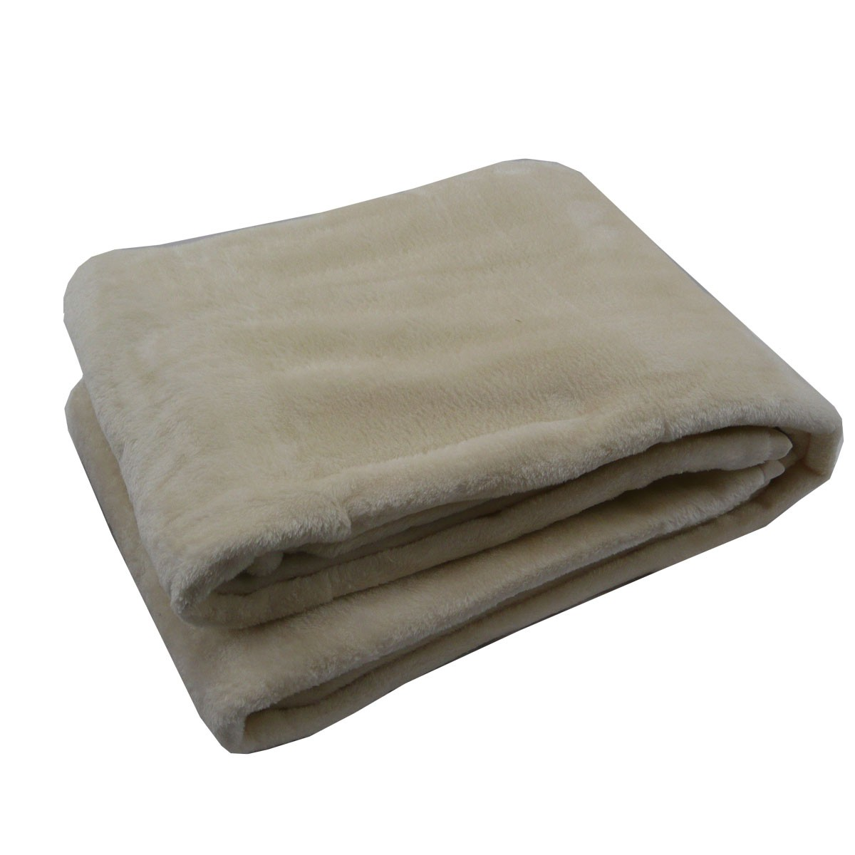 fleece decke kuscheldecke flauschdecke creme 150x200cm. Black Bedroom Furniture Sets. Home Design Ideas