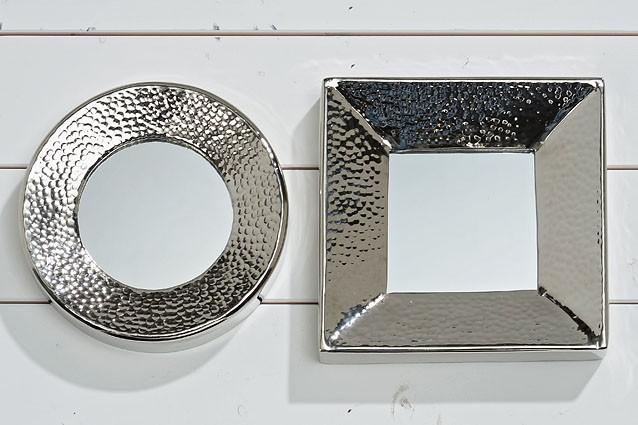 spiegel princess aluminium silber wohnen wohnaccessoires spiegel. Black Bedroom Furniture Sets. Home Design Ideas