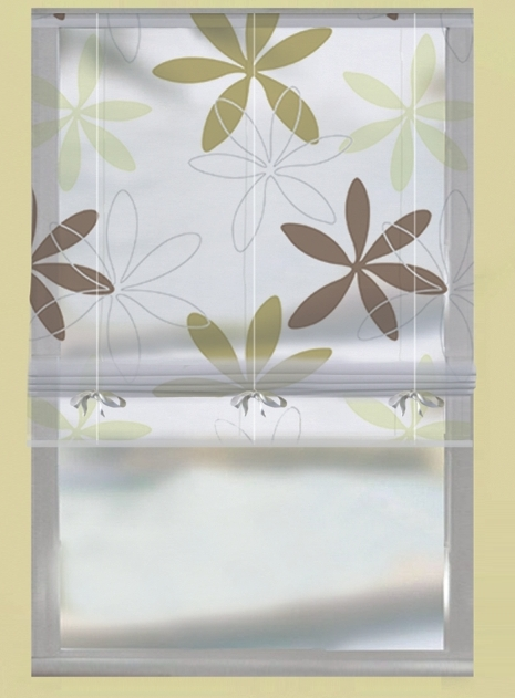 raffrollo b ndchenrollo rollo mit tunneldurchzug nizza gr n 60x135cm gardinen fertiggardinen. Black Bedroom Furniture Sets. Home Design Ideas