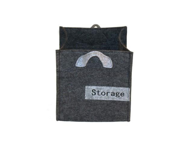 aufbewahrungsbox box filz storage 27x27cm wohnen. Black Bedroom Furniture Sets. Home Design Ideas