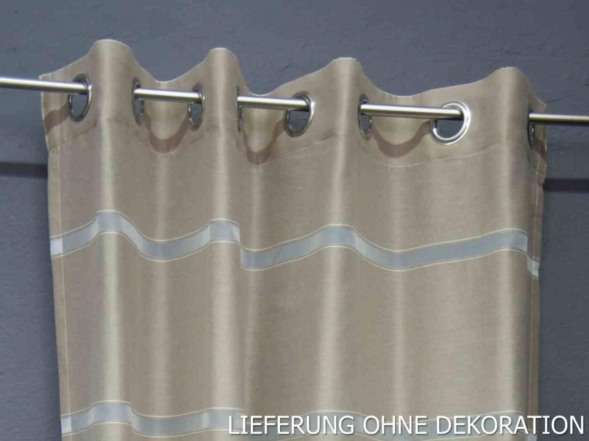 sch ner wohnen fertigschal dekoschal senschal gap schlamm. Black Bedroom Furniture Sets. Home Design Ideas