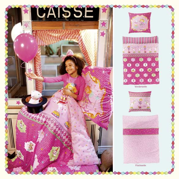 bettw sche kinder prinzessin lillifee zirkus 135x200cm. Black Bedroom Furniture Sets. Home Design Ideas