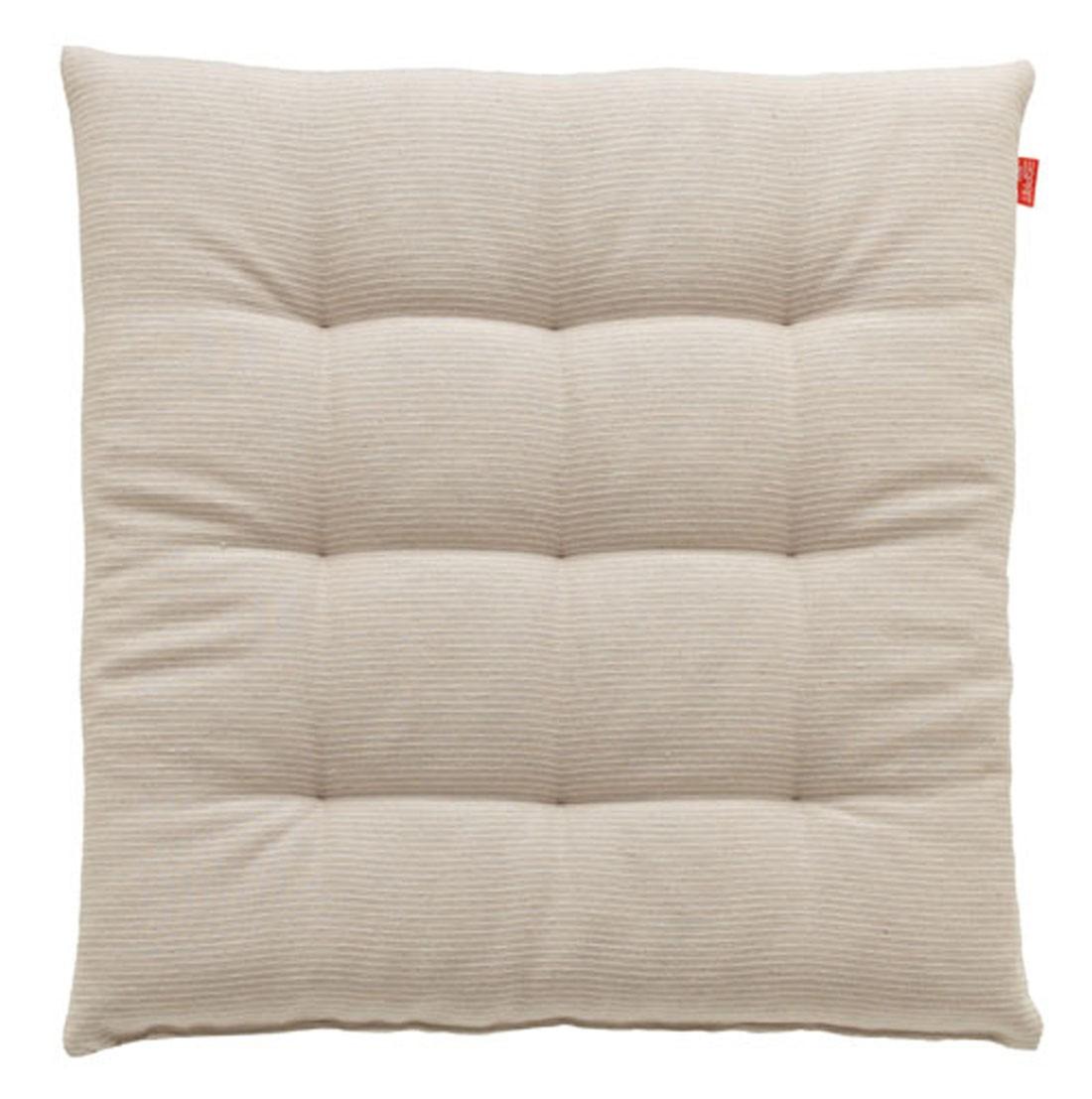 esprit stuhlkissen needlestripe beige wei 40x40cm wohntextilien kissen stuhlkissen. Black Bedroom Furniture Sets. Home Design Ideas
