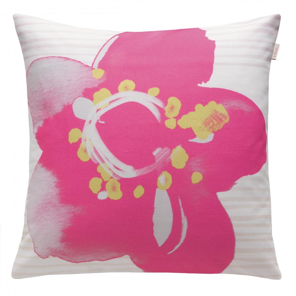 esprit kissenh lle bella pink 50x50cm wohntextilien kissen flowers. Black Bedroom Furniture Sets. Home Design Ideas