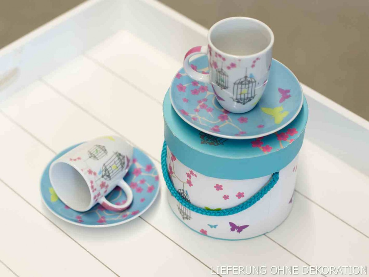 ppd espressotassen set 4teilig pastell v gel. Black Bedroom Furniture Sets. Home Design Ideas