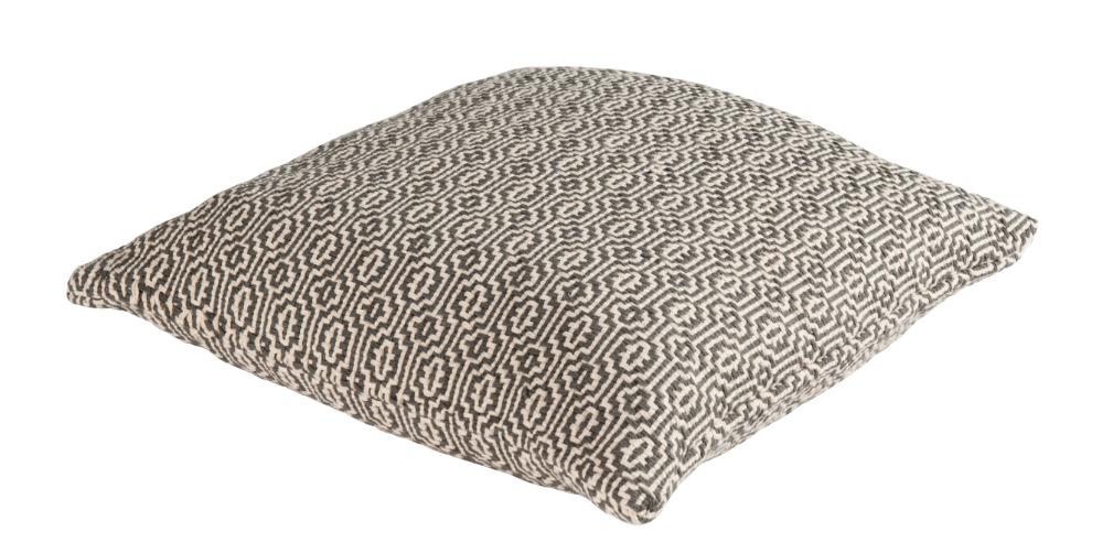 kissen dekokissen cambridge grobes webmuster creme grau. Black Bedroom Furniture Sets. Home Design Ideas