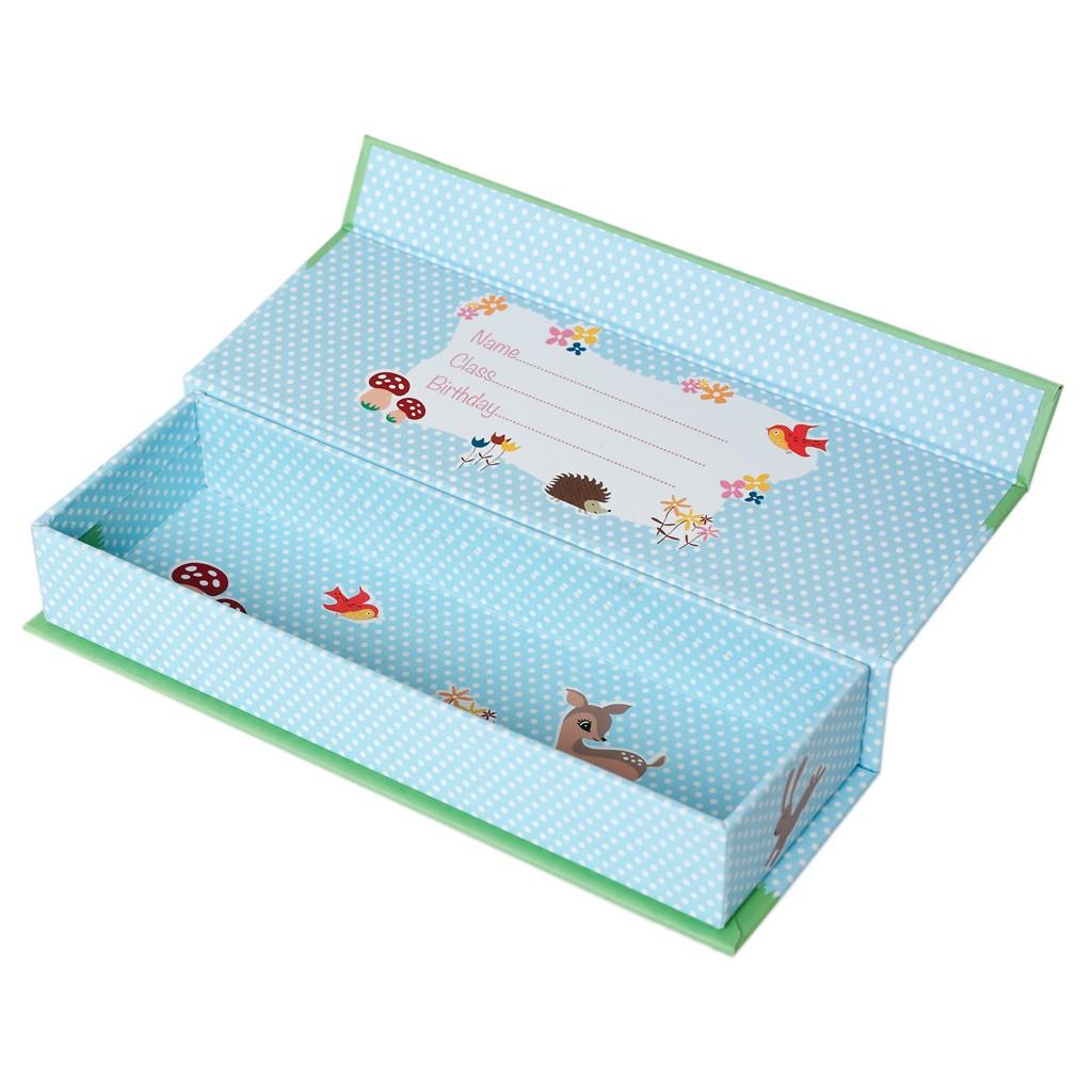 stiftem ppchen aufbewahrungsbox waldfreunde bambi karton mit magnet 20x6 5cm mode taschen co. Black Bedroom Furniture Sets. Home Design Ideas