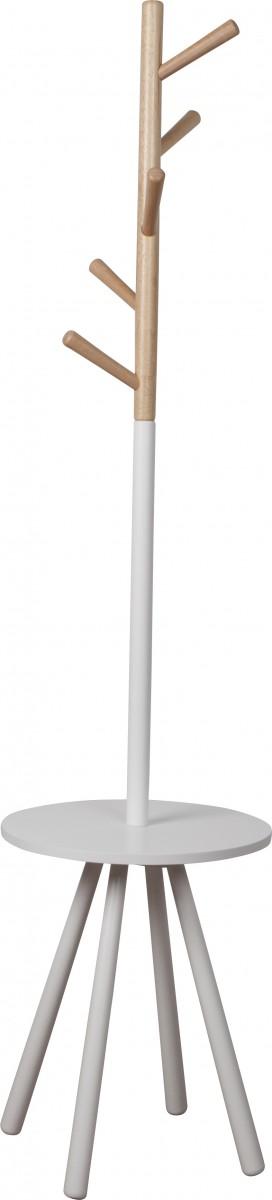 standgarderobe kleiderst nder table tree holz wei h 169cm wohnen wohnaccessoires kleinm bel. Black Bedroom Furniture Sets. Home Design Ideas