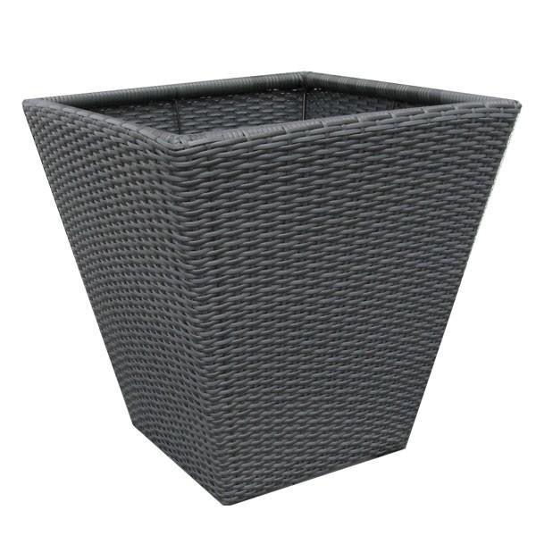 franz m ller blumenk bel pflanzgef rehau h50cm wohnen wohnaccessoires pflanzgef e. Black Bedroom Furniture Sets. Home Design Ideas