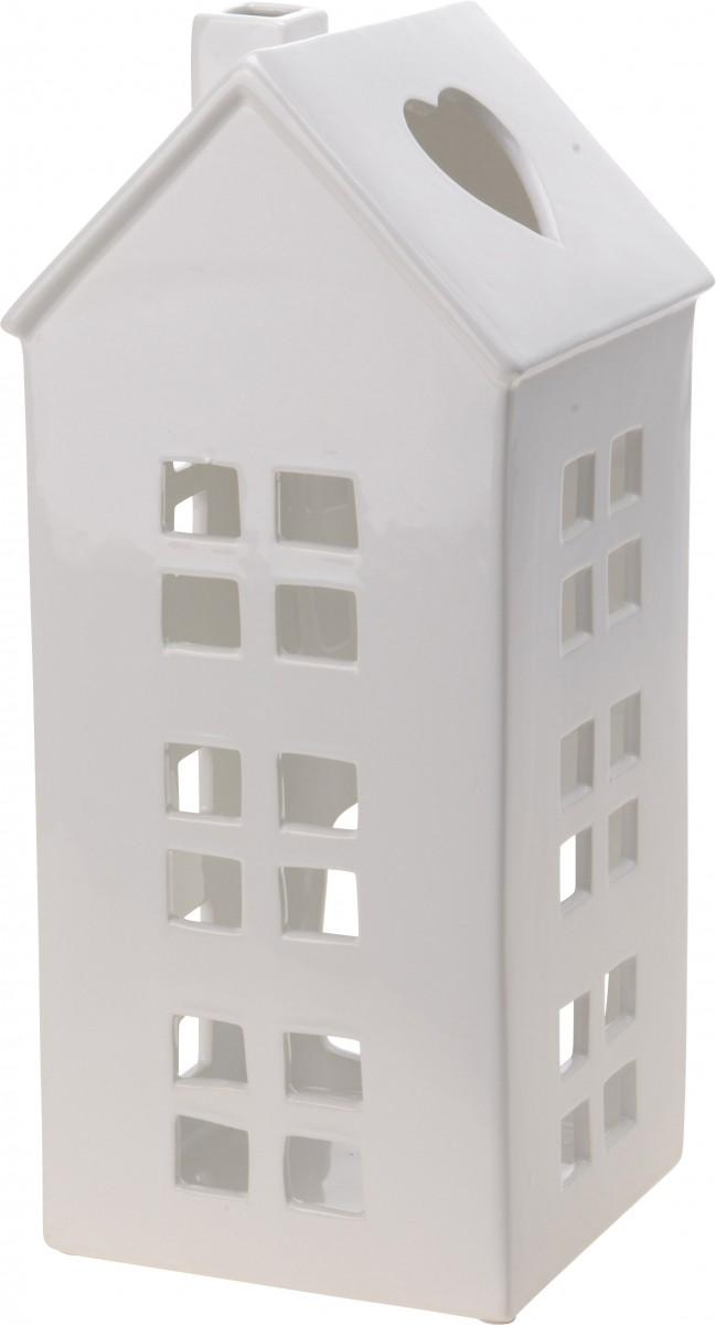 suchergebnis wohnaccessoires laternen windlichter laterne windlicht haus porzellan weiss 15x36cm. Black Bedroom Furniture Sets. Home Design Ideas