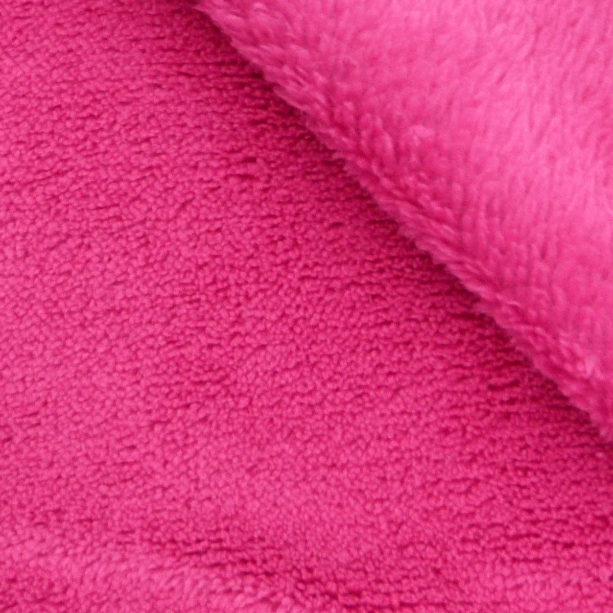Decke Farbe Fuchsia: Wohndecke Mikrofaserdecke Kuscheldecke Plaid Justin Pink