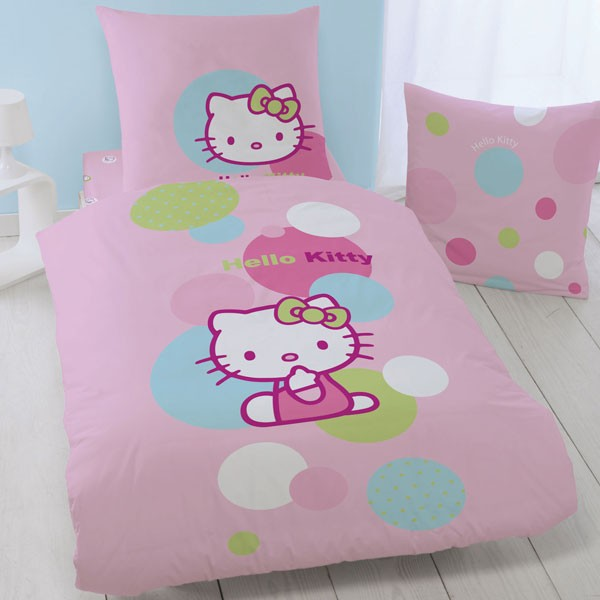 bettw sche kinderbettw sche hello kitty balloon 135x200cm wohntextilien bettw sche kinderbettw sche. Black Bedroom Furniture Sets. Home Design Ideas