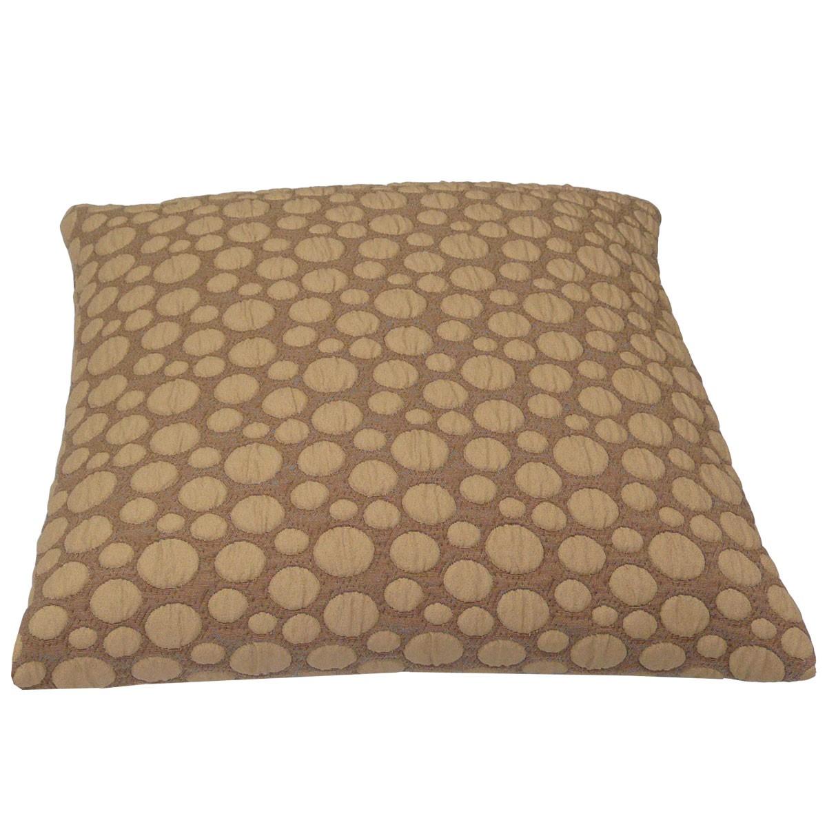 kissen kissenh lle beige mit punkten 50x50cm wohntextilien kissen young trendy. Black Bedroom Furniture Sets. Home Design Ideas