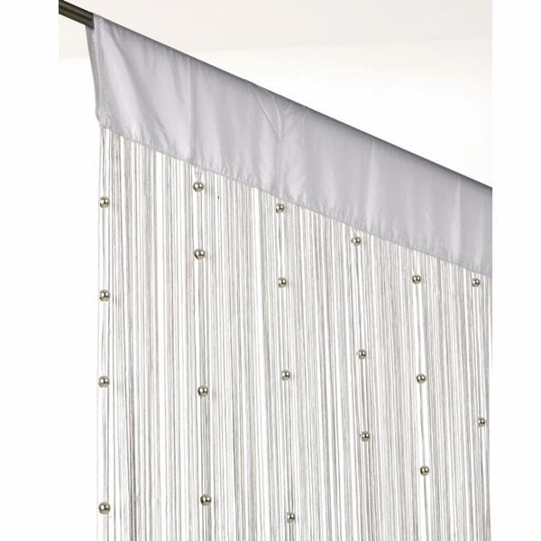 fadenvorhang fadengardine t rvorhang perlen 90x250cm helena wei gardinen fertiggardinen. Black Bedroom Furniture Sets. Home Design Ideas
