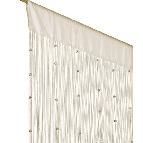 fadenvorhang t rvorhang insektenschutz perlen 90x250cm. Black Bedroom Furniture Sets. Home Design Ideas